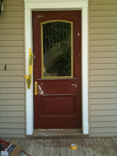 House painting gallery red door painting llc - Exterior paint for doors gallery ...